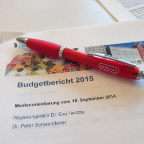 Budgetbericht 2015