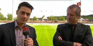 GC-Präsident Stephan Anliker im Interview für Teleclub Sport