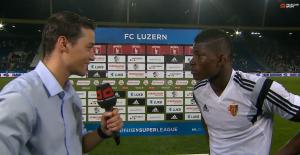 Der 18-jährige Kamerun-Schweizer nach dem 3:1-Sieg gegen den FC Luzern